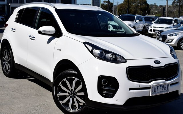 Used Kia Sportage QL MY16 SLi AWD, 2016 Kia Sportage QL MY16 SLi AWD White 6 Speed Sports Automatic Wagon