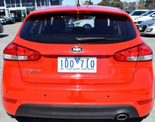 2015 Kia Cerato YD MY15 S Red/Black 6 Speed Manual Hatchback