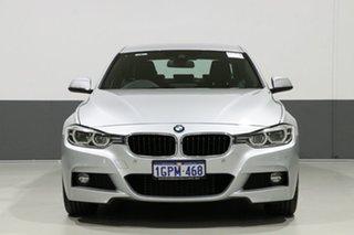 2018 BMW 330i F30 LCI MY18 M Sport Silver 8 Speed Automatic Sedan.