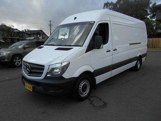2016 Mercedes-Benz Sprinter 906 MY14 313 CDI LWB Hi Roof White 7 Speed Automatic Van.