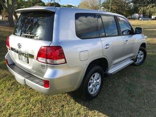 2007 Toyota Landcruiser UZJ200R GXL (4x4) Silver Pearl 5 Speed Automatic Wagon