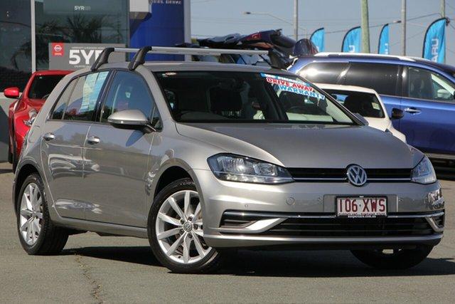Used Volkswagen Golf 7.5 MY18 110TSI DSG Comfortline, 2017 Volkswagen Golf 7.5 MY18 110TSI DSG Comfortline Tungsten Silver 7 Speed