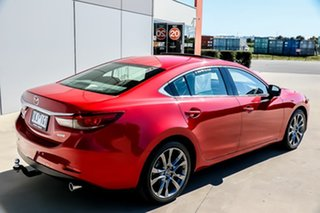 2017 Mazda 6 GL1031 Atenza SKYACTIV-Drive Soul Red 6 Speed Sports Automatic Sedan