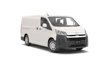 2019 Toyota HiAce GDH300R LWB French Vanilla 6 Speed Manual Van.