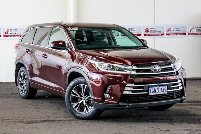 Used Toyota Kluger GSU55R MY18 GX (4x4), 2018 Toyota Kluger GSU55R MY18 GX (4x4) Deep Red 8 Speed Automatic Wagon
