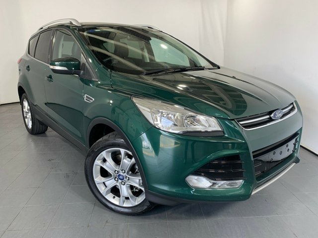 Used Ford Kuga TF MY16.5 Trend AWD, 2016 Ford Kuga TF MY16.5 Trend AWD Green 6 Speed Sports Automatic Wagon