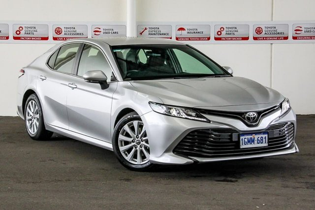Used Toyota Camry ASV70R Ascent, 2018 Toyota Camry ASV70R Ascent Silver Pearl 6 Speed Automatic Sedan