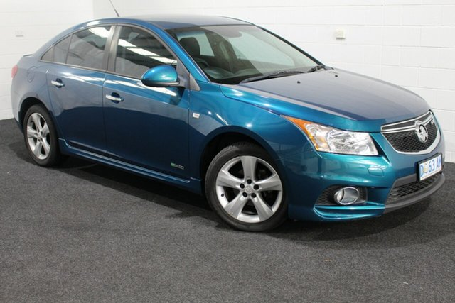 Used Holden Cruze JH Series II MY11 SRi, 2011 Holden Cruze JH Series II MY11 SRi Green 6 Speed Manual Sedan