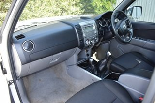 2010 Mazda BT-50 UNY0E4 SDX White 5 Speed Manual Utility