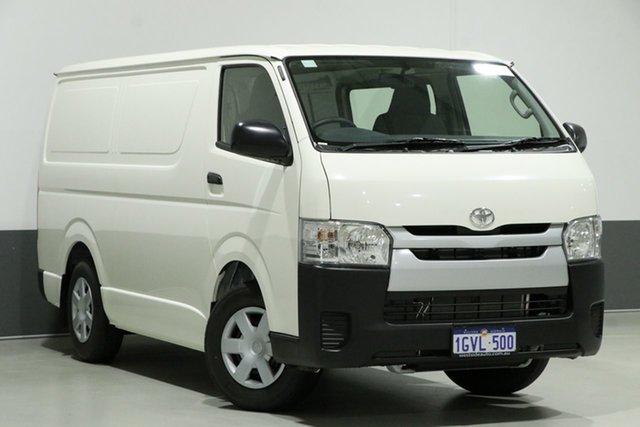 Used Toyota HiAce TRH201R MY16 LWB, 2019 Toyota HiAce TRH201R MY16 LWB White 6 Speed Automatic Van