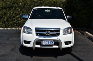 2010 Mazda BT-50 UNY0E4 SDX White 5 Speed Manual Utility.