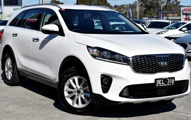 Used Kia Sorento UM MY19 Si AWD, 2019 Kia Sorento UM MY19 Si AWD Clear White 8 Speed Sports Automatic Wagon
