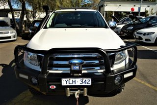 2011 Ford Ranger PX XLT Double Cab White 6 Speed Sports Automatic Utility