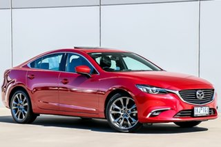 2017 Mazda 6 GL1031 Atenza SKYACTIV-Drive Soul Red 6 Speed Sports Automatic Sedan.