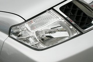 2012 Nissan Navara D40 S6 MY12 ST Silver 6 Speed Manual Utility.