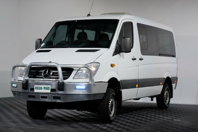 Used Mercedes-Benz Sprinter NCV3 MY10 316CDI Low Roof MWB, 2010 Mercedes-Benz Sprinter NCV3 MY10 316CDI Low Roof MWB White Van