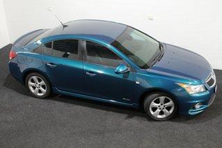 2011 Holden Cruze JH Series II MY11 SRi Green 6 Speed Manual Sedan.