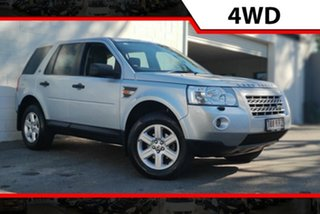 2007 Land Rover Freelander 2 LF Td4 SE Silver 6 Speed Sports Automatic Wagon.