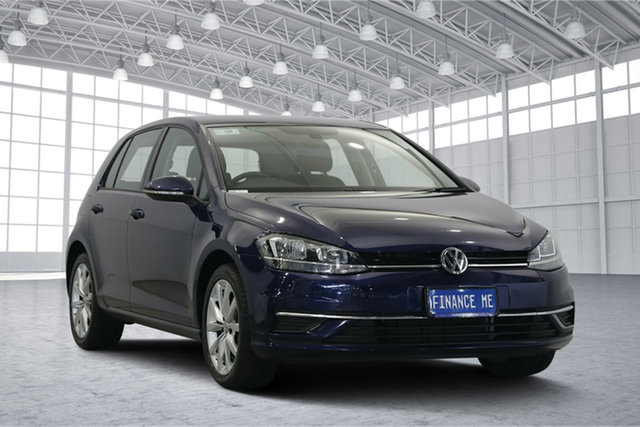 Used Volkswagen Golf 7.5 MY18 110TSI DSG Comfortline, 2018 Volkswagen Golf 7.5 MY18 110TSI DSG Comfortline Atlantic Blue 7 Speed