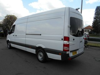 2016 Mercedes-Benz Sprinter 906 MY14 313 CDI LWB Hi Roof White 7 Speed Automatic Van
