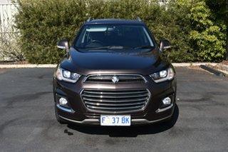 2016 Holden Captiva CG MY17 LTZ AWD Burnt Coconut Brown 6 Speed Sports Automatic Wagon.