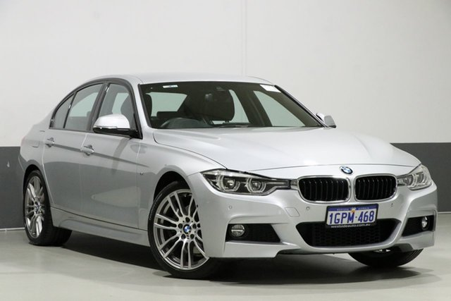 Used BMW 330i F30 LCI M Sport, 2018 BMW 330i F30 LCI M Sport Silver 8 Speed Automatic Sedan