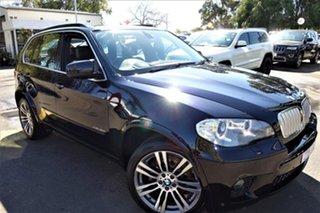 2013 BMW X5 E70 MY1112 xDrive40d Steptronic Sport Black 8 Speed Sports Automatic Wagon.