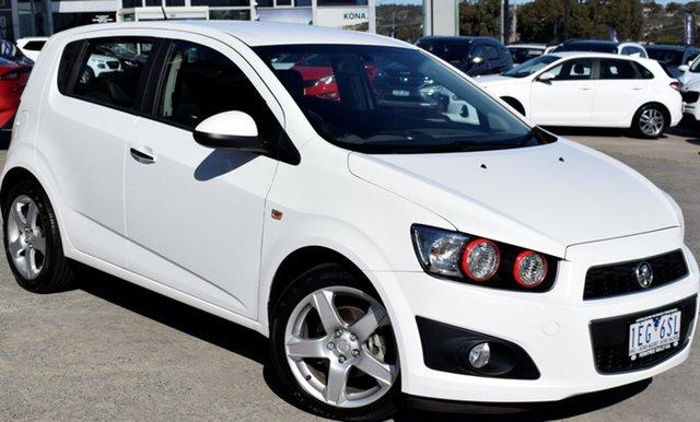 Used Holden Barina TM MY14 CDX, 2014 Holden Barina TM MY14 CDX White 6 Speed Automatic Hatchback