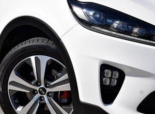 2018 Kia Sorento UM MY19 GT-Line AWD Clear White 8 Speed Sports Automatic Wagon.