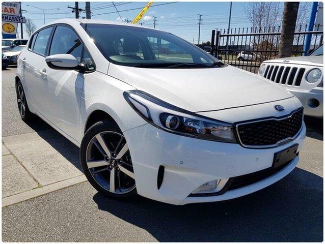 Used Kia Cerato YD Sport, 2017 Kia Cerato YD Sport White Sports Automatic Hatchback