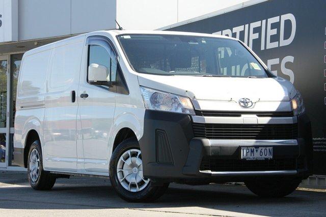 Used Toyota HiAce GRH300R LWB, 2019 Toyota HiAce GRH300R LWB French Vanilla 6 Speed Sports Automatic Van