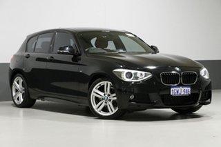 2015 BMW 118d F20 MY15 Black 8 Speed Automatic Hatchback.