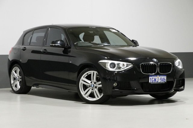 Used BMW 118d F20 MY15 , 2015 BMW 118d F20 MY15 Black 8 Speed Automatic Hatchback