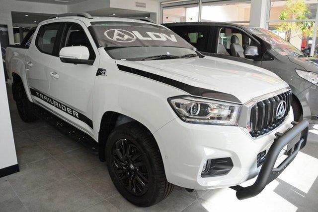 New LDV T60 SK8C Trailrider, 2019 LDV T60 SK8C Trailrider Blanc White 6 Speed Sports Automatic Utility