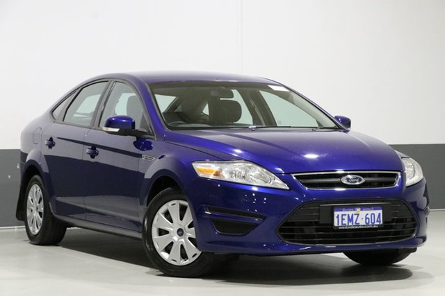 Used Ford Mondeo MC LX TDCi, 2014 Ford Mondeo MC LX TDCi Blue 6 Speed Direct Shift Hatchback