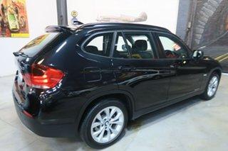2011 BMW X1 E84 MY0911 sDrive18i Steptronic Black 6 Speed Sports Automatic Wagon