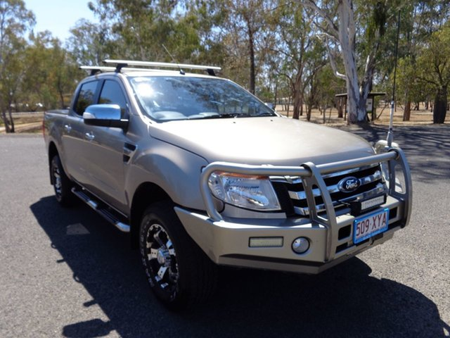 Used Ford Ranger PX MkII MY17 Update XLT 3.2 (4x4), 2018 Ford Ranger PX MkII MY17 Update XLT 3.2 (4x4) Gold 6 Speed Automatic Dual Cab Utility