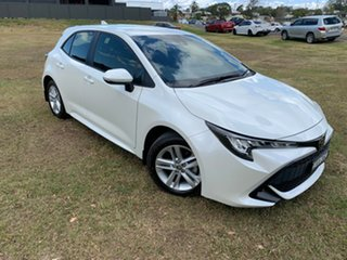 2018 Toyota Corolla Mzea12R Ascent Sport Crystal Pearl 10 Speed Constant Variable Hatchback.