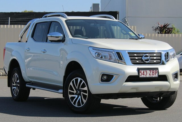Demo Nissan Navara D23 S3 ST-X, 2019 Nissan Navara D23 S3 ST-X White Diamond 7 Speed Sports Automatic Utility