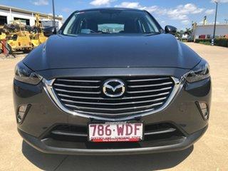 2015 Mazda CX-3 DK2W7A sTouring SKYACTIV-Drive Grey 6 Speed Sports Automatic Wagon