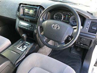 2007 Toyota Landcruiser UZJ200R GXL (4x4) Silver Pearl 5 Speed Automatic Wagon.