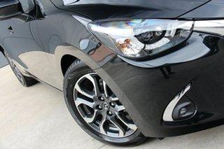 2019 Mazda 2 DJ2HAA Genki SKYACTIV-Drive Jet Black 6 Speed Sports Automatic Hatchback.