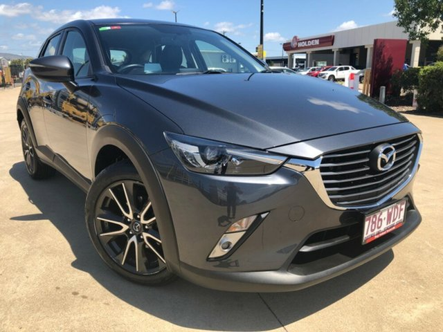 Used Mazda CX-3 DK2W7A sTouring SKYACTIV-Drive, 2015 Mazda CX-3 DK2W7A sTouring SKYACTIV-Drive Grey 6 Speed Sports Automatic Wagon