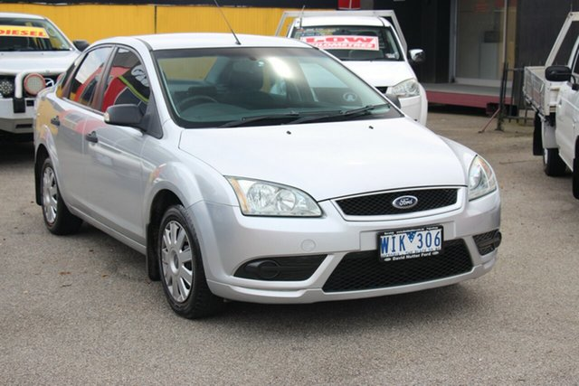 Used Ford Focus LS CL, 2007 Ford Focus LS CL Silver 5 Speed Manual Sedan