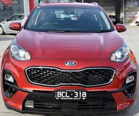 2018 Kia Sportage QL MY18 Si AWD Premium Firey Red 6 Speed Sports Automatic Wagon.