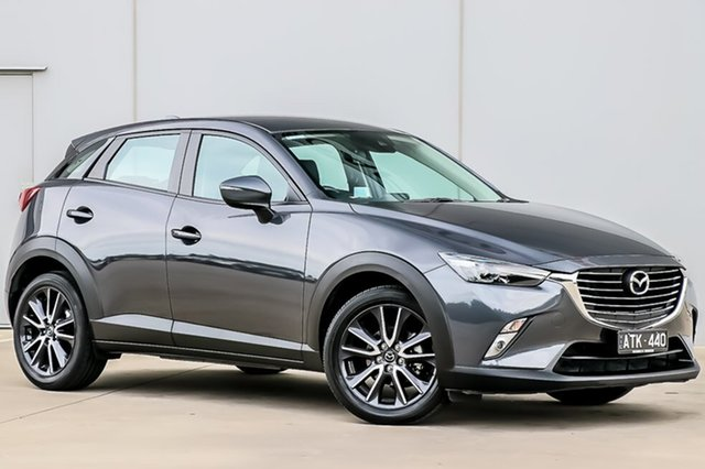 Used Mazda CX-3 DK2W7A sTouring SKYACTIV-Drive, 2018 Mazda CX-3 DK2W7A sTouring SKYACTIV-Drive 6 Speed Sports Automatic Wagon