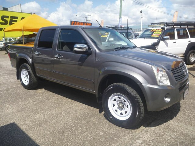 Used Holden Rodeo RA MY08 LX Crew Cab 4x2, 2008 Holden Rodeo RA MY08 LX Crew Cab 4x2 Grey 4 Speed Automatic Utility