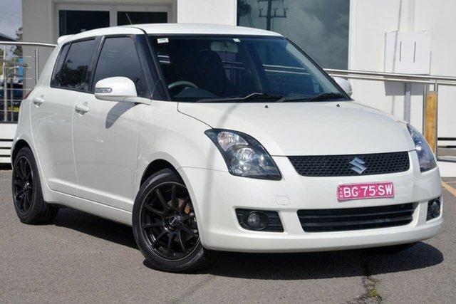 Used Suzuki Swift RS415 S, 2010 Suzuki Swift RS415 S White 4 Speed Automatic Hatchback