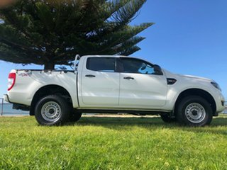 2016 Ford Ranger PX MkII XL Double Cab White 6 Speed Manual Utility.