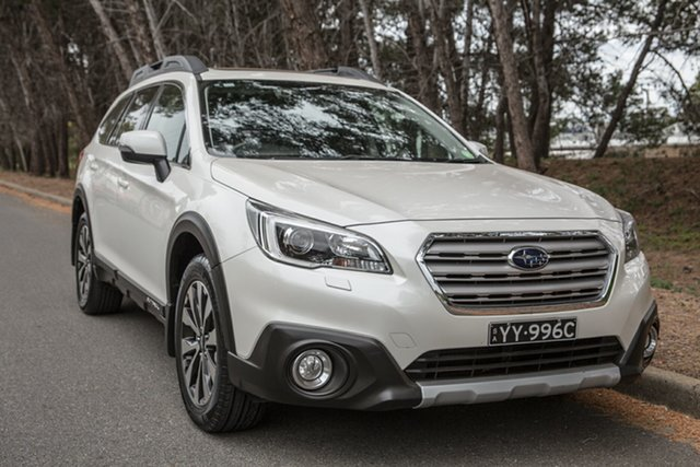Used Subaru Outback B6A MY15 2.5i CVT AWD Premium, 2015 Subaru Outback B6A MY15 2.5i CVT AWD Premium White 6 Speed Constant Variable Wagon